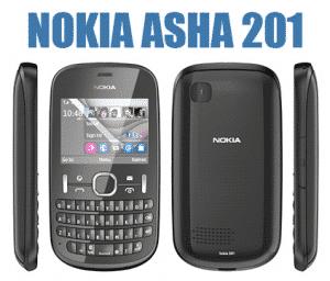 Nokia Asha 201 dekodiranje