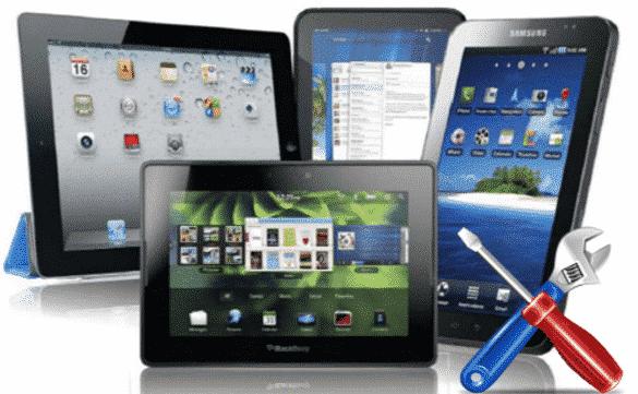 servis tableta