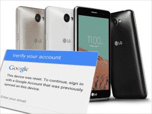Uklanjanje Google Factory Reset Protection (FRP) na LG telefonima