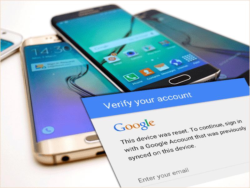 Uklanjanje Google Factory Reset Protection (FRP) na Samsung telefonima