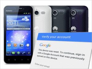 Uklanjanje Google Factory Reset Protection (FRP) na Huawei telefonima