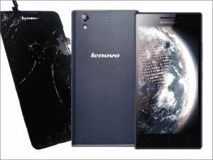 Zamena ekrana na Lenovo P70