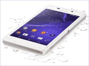 Sony Xperia M2 Aqua – zamena ekrana