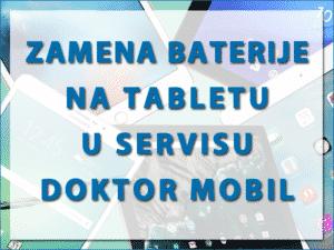 zamena baterije na tabletu