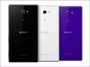 Dekodiranje Sony Xperia M2