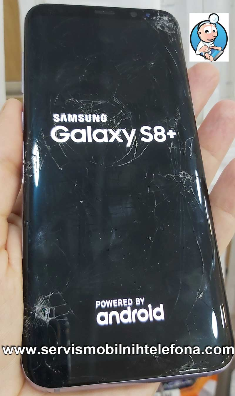 zamena ekrana Samsung S8 plus