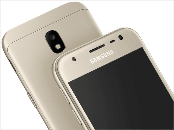 Samsung J330 DS black, gold, blue-silver