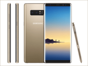 Note 8 DS gold