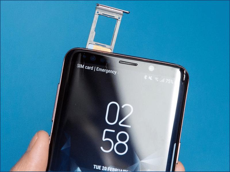 Popravka ili zamena čitača SIM kartice na Samsung S9 – Doktor Mobil