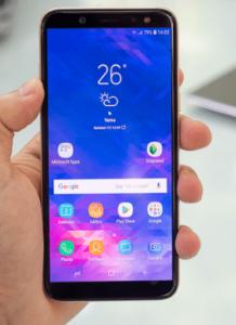 Samsung Galaxy A6, zamena ekrana