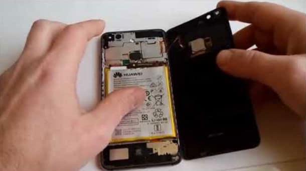 zamena baterije huawei p10 lite