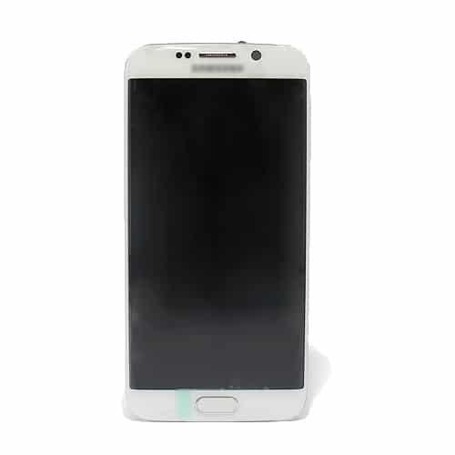Samsung Galaxy S6 (G925) Edge LCD + touchscreen beli Full Original - Doktor Mobil