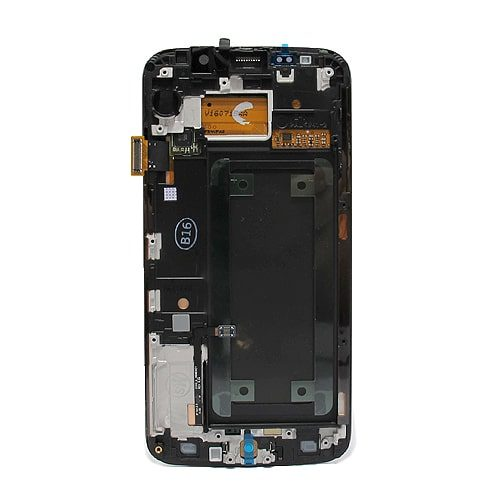Samsung Galaxy S6 (G925) Edge LCD + touchscreen crni Full Original - Doktor Mobil servis mobilnih telefona