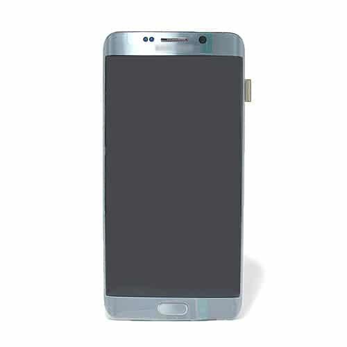 Samsung Galaxy S6 (G925) Edge LCD + touchscreen srebrni Full Original - Doktor Mobil