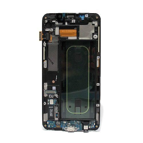 Samsung Galaxy S6 (G925) Edge LCD + touchscreen srebrni Full Original - Doktor Mobil servis mobilnih telefona