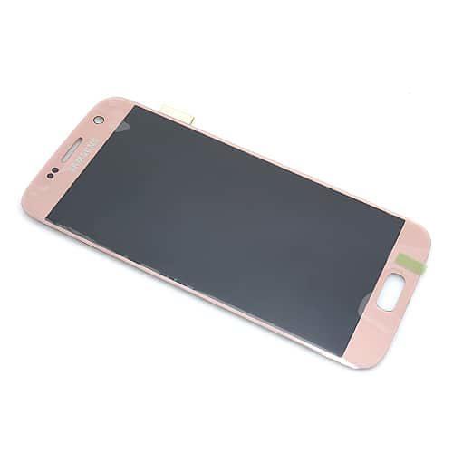 Samsung Galaxy S7 (G930) LCD + touchscreen ruža zlatni Full ORG - Doktor Mobil