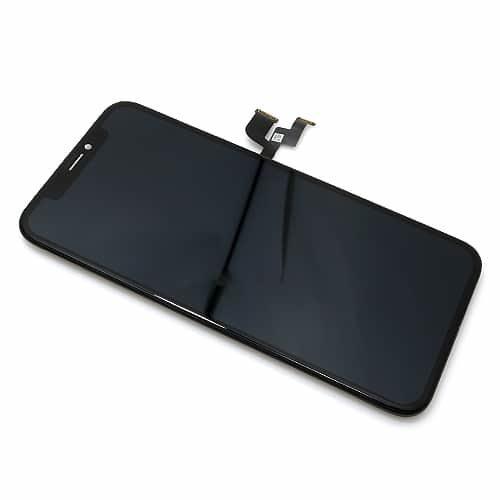 iPhone X LCD + touchscreen crni AAA - Doktor Mobil