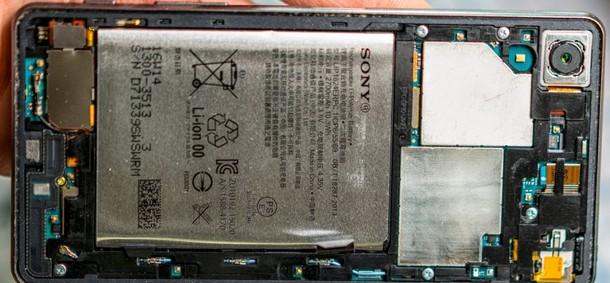 sony xperia x performance zamena baterije