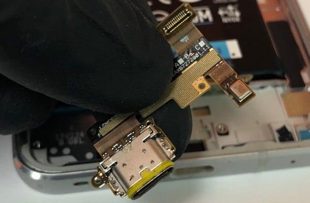 zamena konektora punjenja lg g6