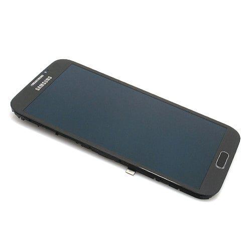 Samsung Galaxy Note 2 (N7100) LCD + touchscreen + frame sivi ORG - Doktor Mobil