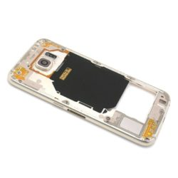 Samsung S6 (G920) srednje kuciste zlatno - Doktor Mobil