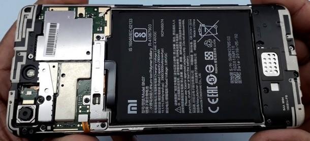 xiaomi redmi 6a zamena baterije