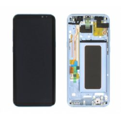 Samsung (G955) Galaxy S8 Plus LCD + touchscreen + frame plavi FULL ORIGINAL - Doktor Mobil