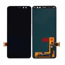Samsung Galaxy A8 (2018) A530 LCD + touchscreen crni FULL ORIGINAL - Doktor Mobil