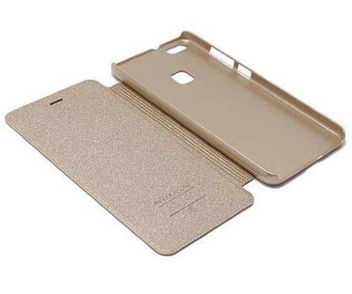 Futrola Huawei P10 Lite Nillkin sparkle zlatna preklopš - Doktor Mobil