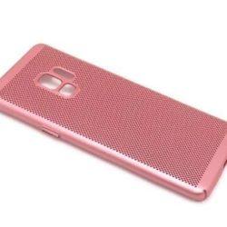 Futrola Samsung Galaxy S9 (G960F) PVC breath roze- Doktor Mobil