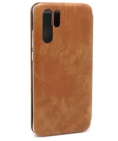 Huawei P30 Pro futrola Bi Fold ihave Gentleman braon zadnja strana - Doktor Mobil