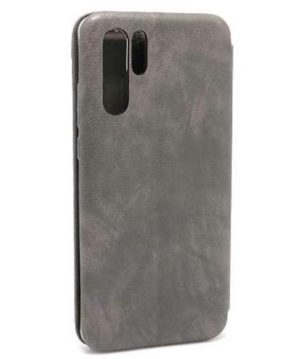 Huawei P30 Pro futrola Bi Fold ihave Gentleman siva zadnja strana -Doktor Mobil