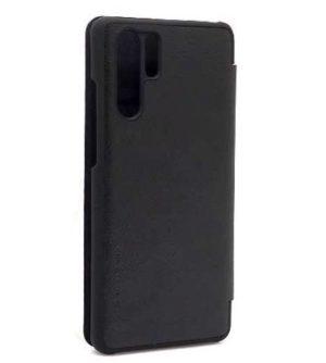 Huawei P30 Pro futrola Nillkin Qin crna zadnja strana- Doktor Mobil
