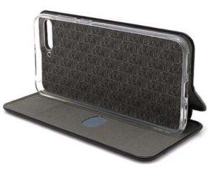 Huawei Y6 (2018) futrola Bi Fold ihave Gentleman crna prekjlkop - Doktor Mobil
