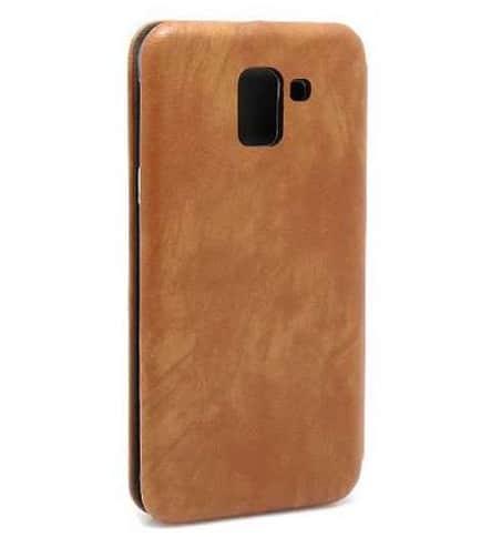 Samsung J6 (J600) futrola Bi Fold ihave Gentleman braon zadnja strana - Doktor Mobil