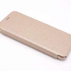 Huawei P20 Lite futrola Nillkin Sparkle zlatna - Doktor Mobil