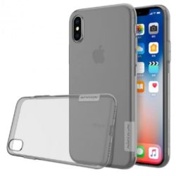 Iphone XS futrola Nillkin Nature siva - Doktor Mobil