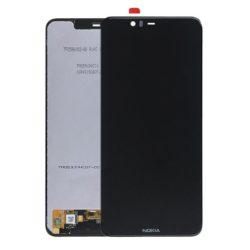 Nokia 5.1 Plus LCD + touchscreen crni - Doktor Mobil