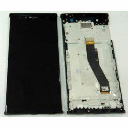 Sony Xperia XA2 Ultra LCD + touchscreen + frame crni FULL ORG - Doktor Mobil