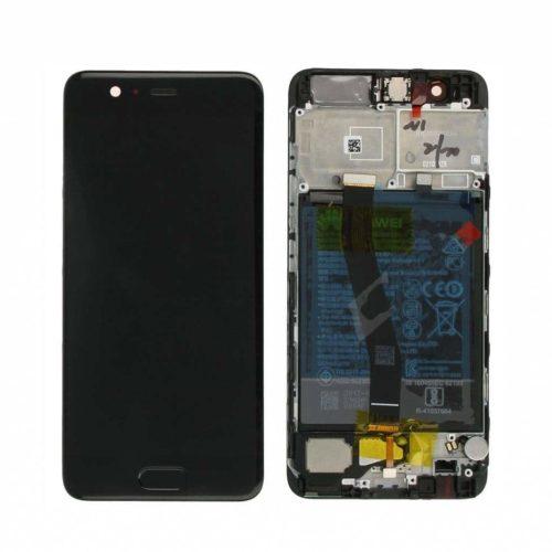 Huawei P10 Plus LCD+touch screen+frame crni - Doktor Mobil