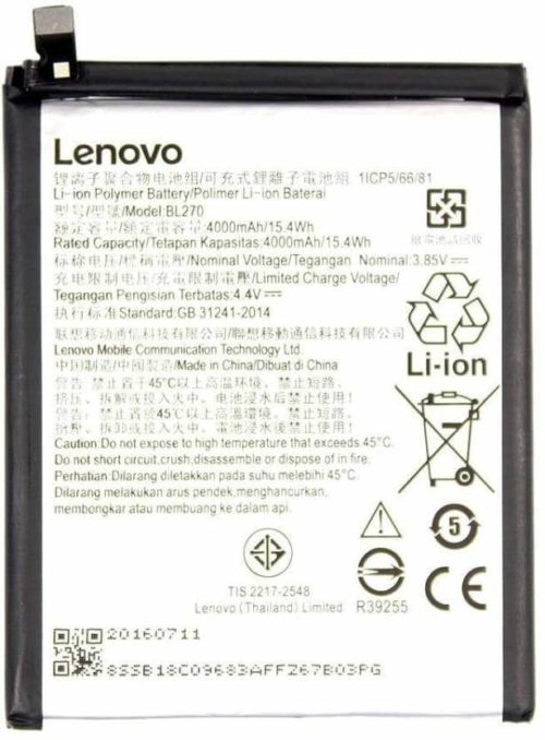 Lenovo K6 Note baterija ROYAL ORIGINAL - Doktor Mobil