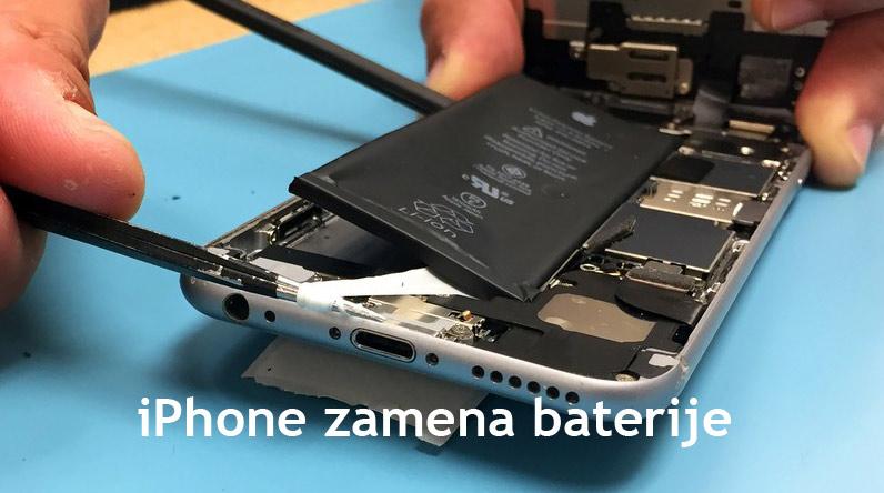 iPhone zamena baterije
