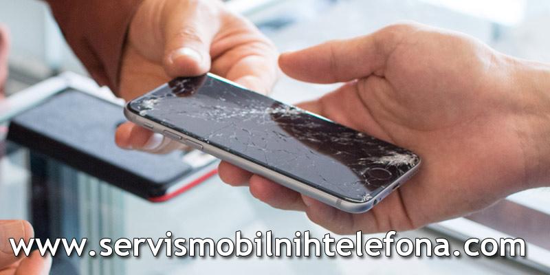 zamena ekrana na mobilnom telefonu