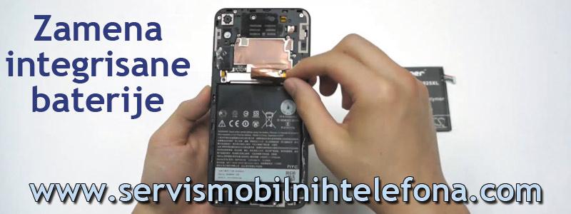zamena integrisane baterije na mobilnom telefonu