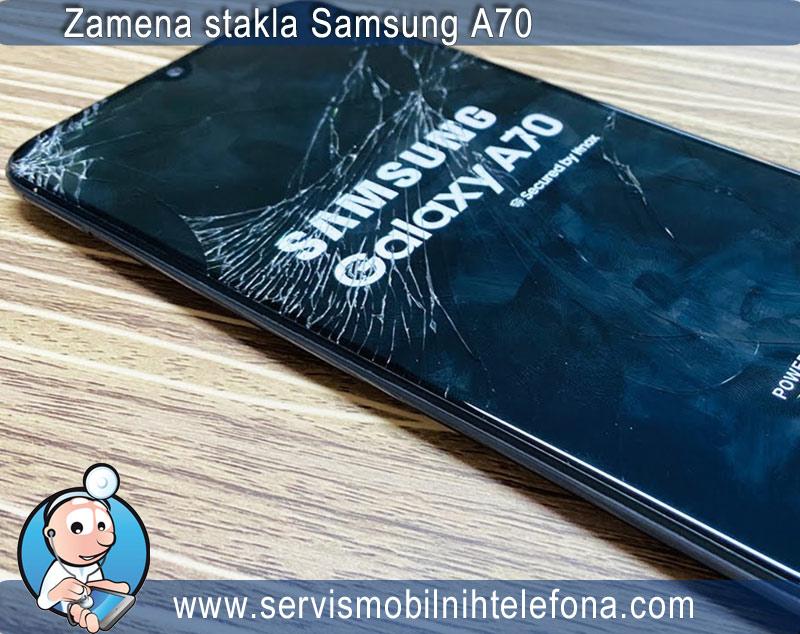 zamena stakla Samsung A70