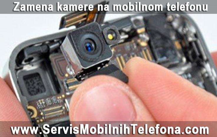 zamena kamere na mobilnom telefonu