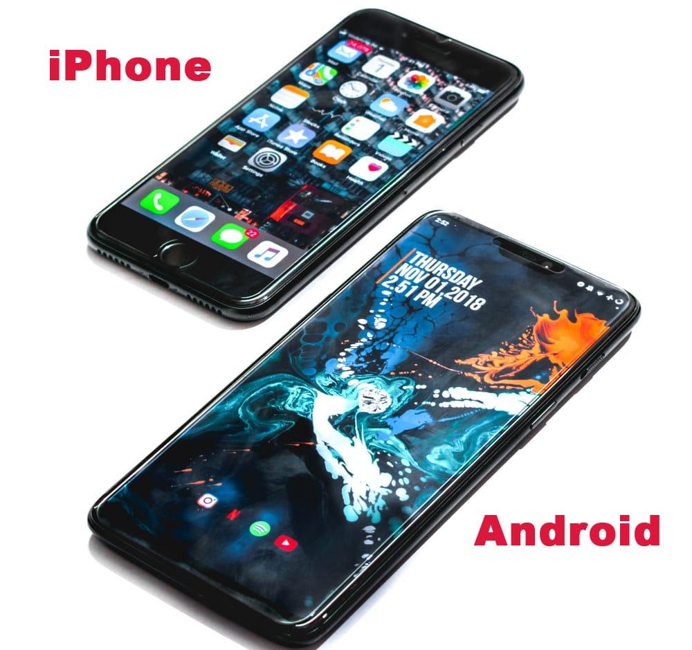 iphone ili android