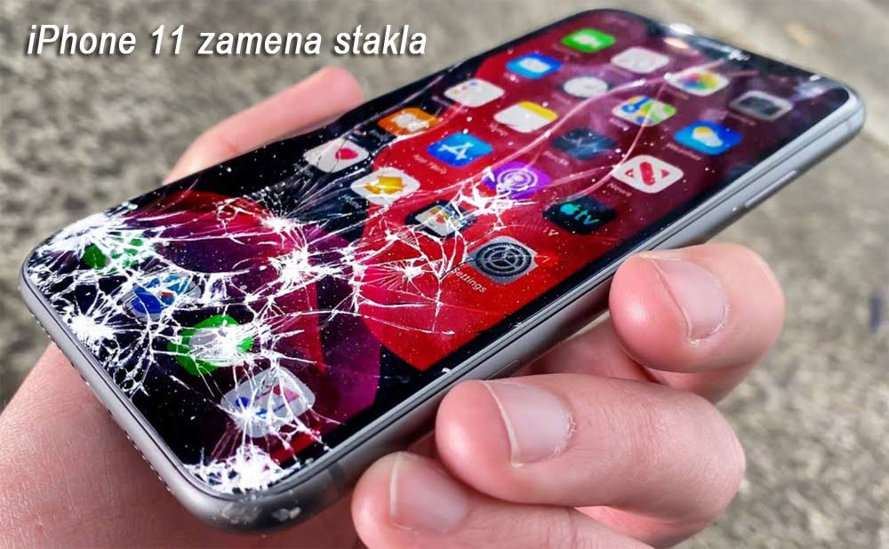 iphone 11 zamena stakla ekrana