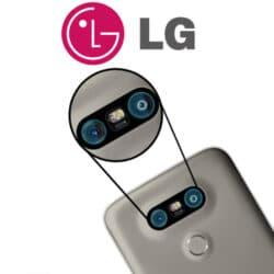 zamena stakla kamere na LG telefonu