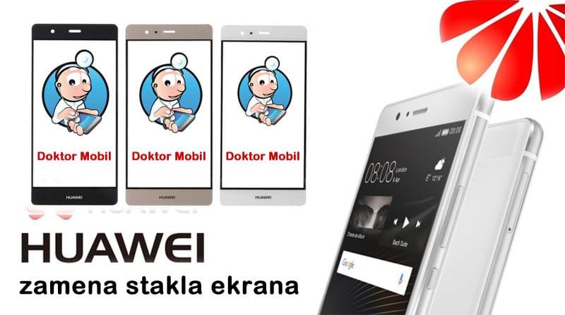 Zamena stakla na Huawei telefonu